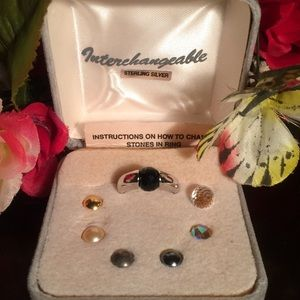 Jewelry - Vintage Sterling Interchangeable Ring